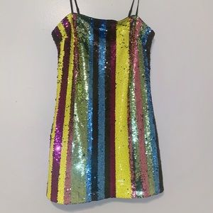 NWT Forever 21 sequin dress